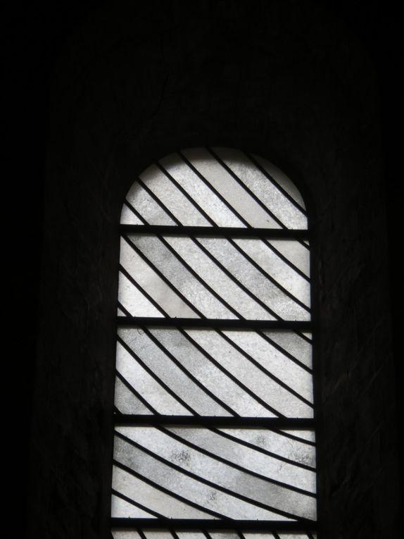 Les vitraux de Pierre Soulages