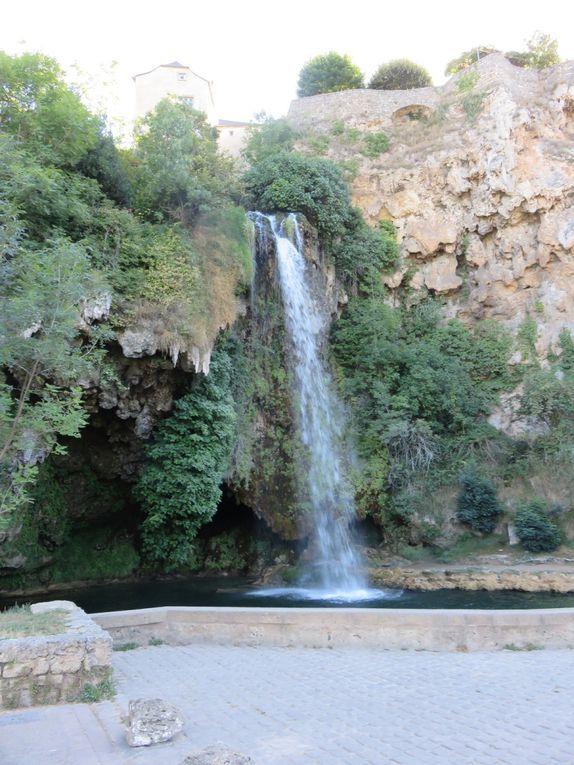 La cascade de Salles-la-Source