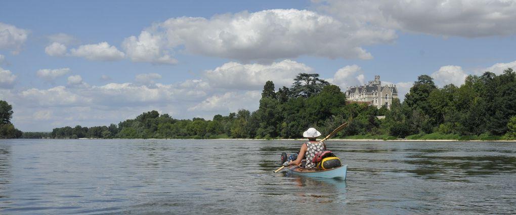 Léodos et Léonidas sur la Loire de Pouilly sous Charlieu à Gien, du 1er au 11 août