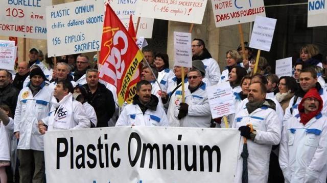 Hé oH..!!!!..MERCI..&quot&#x3B; POUR LA FRANCE QUI VA MIEUX&quot&#x3B;...mais Pas à LAVAL...chez Plastic Omnium....