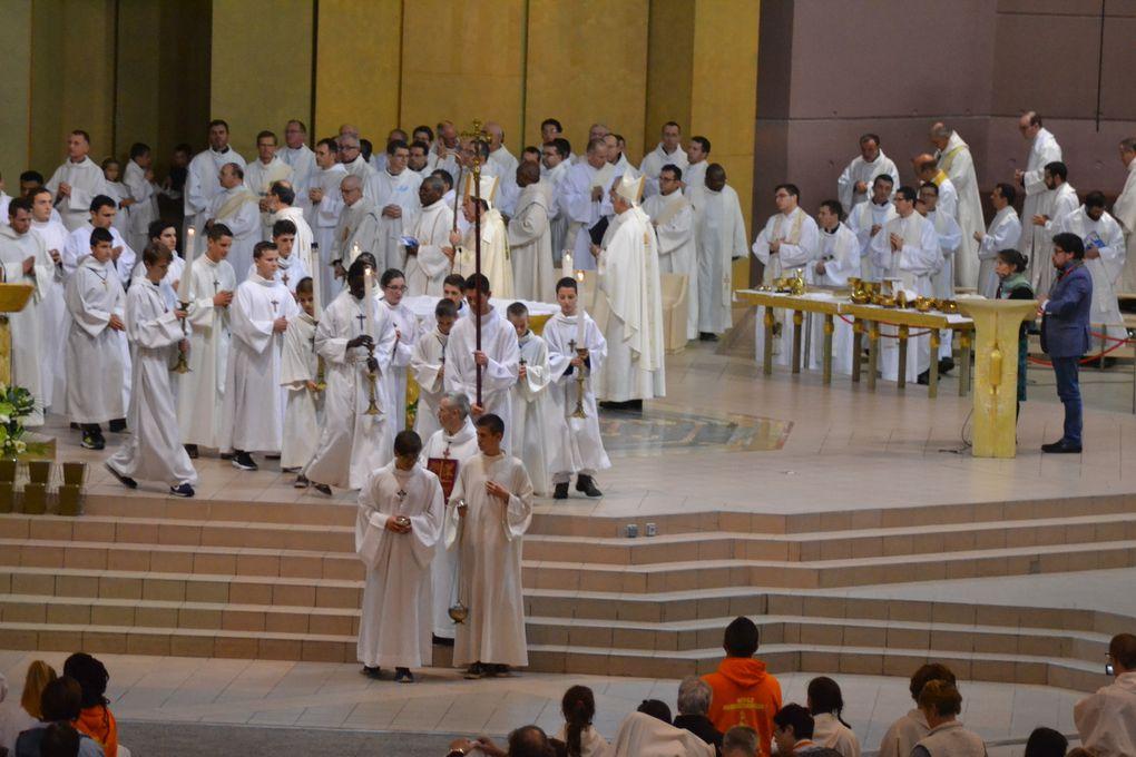 24 octobre 2016 : première journée de pèlerinage à Lourdes