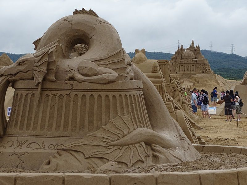SCULPTURES SUR SABLE DE FULONG 福隆 2017 沙雕