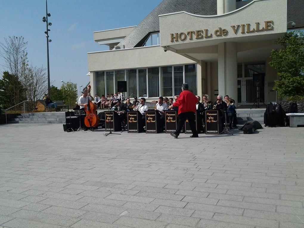 Animation Rats de Caves et Big Band Puissance Jazz  Hotel de Ville Saint Doulchard