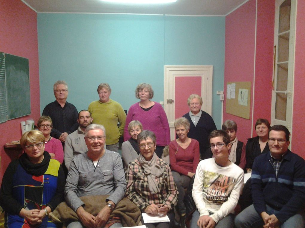 VIE ASSOCIATIVE 2016 : LOTOS, THES DANSANTS, DINER DANSANT, BENEVOLES, AMIS