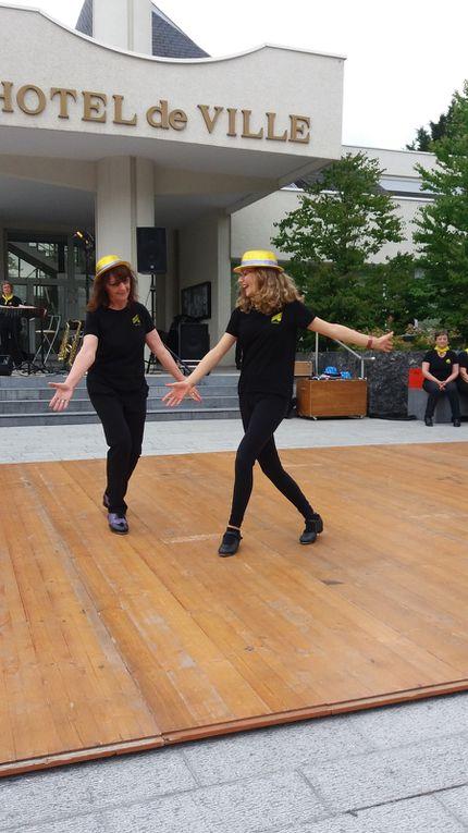 SCHERZO COUNTRY DANCERS ET SCHERZO CLAQUETTES : ANIMATION A SAINT DOULCHARD 2016