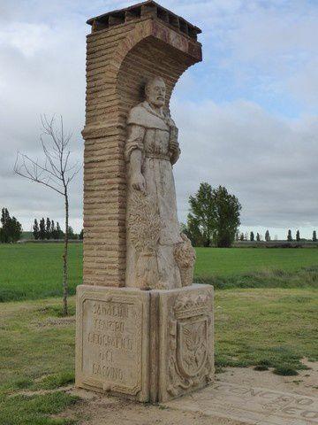 Sahagun est en effet le centre géographique du Camino frances entre Roncevaux et Santiago
