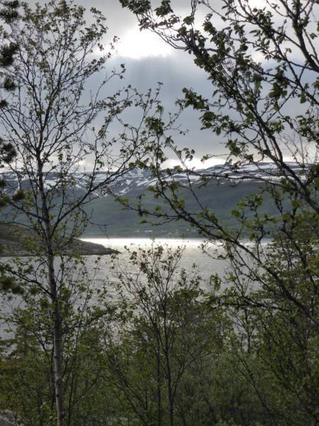 ...jeux de lumière sur le fjord...
