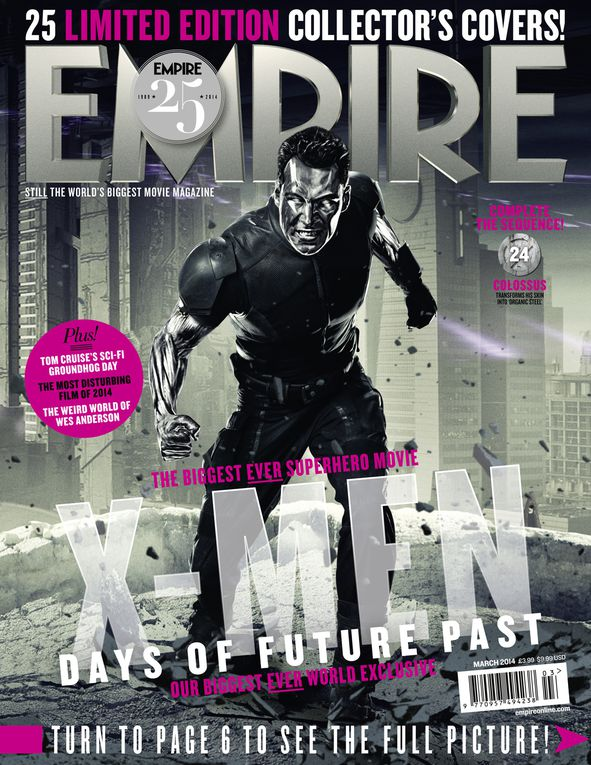 Couvertures d'Empire : X-Men