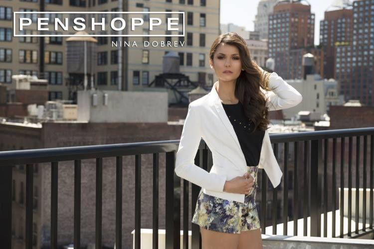 Nina Dobrev pour Penshoppe et ELLE ( Chine)
