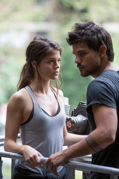 Tracers : Taylor Lautner.