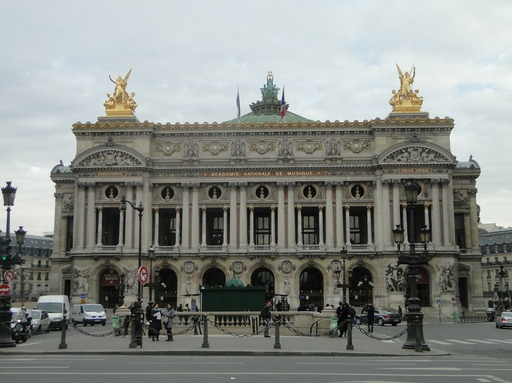 Le théâtre Marigny - L'Opéra Garnier