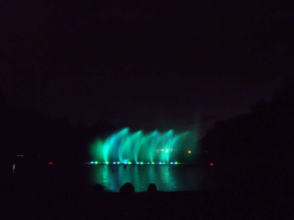 Fountains and music in Lunéville