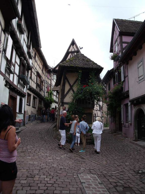 In the old town of Eguisheim