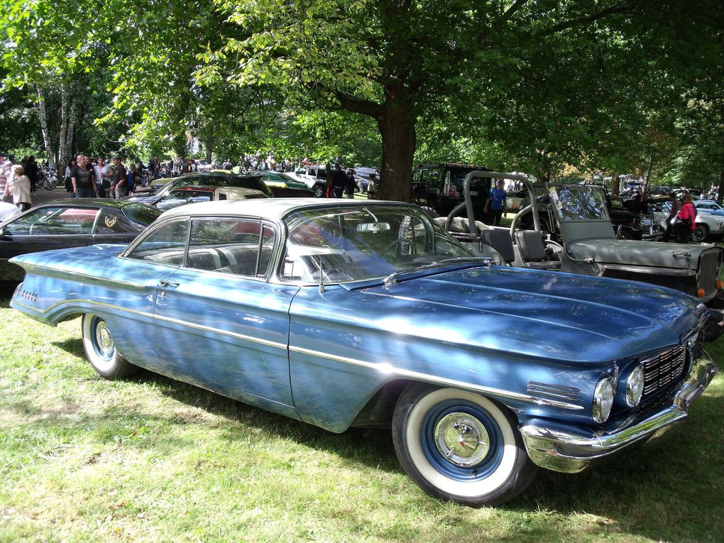 American cars in Pont-à-Mousson