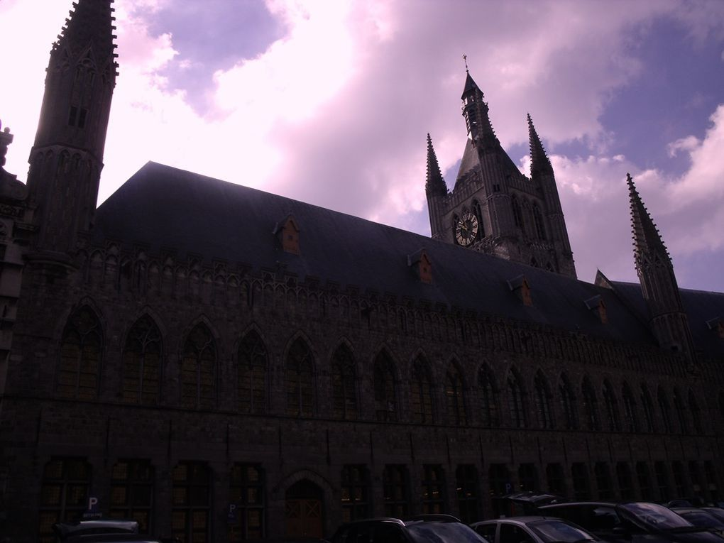 Ypres, a pleasant town in Flanders