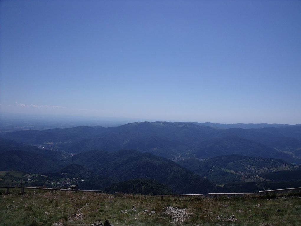Le Grand Ballon in the Vosges mountains