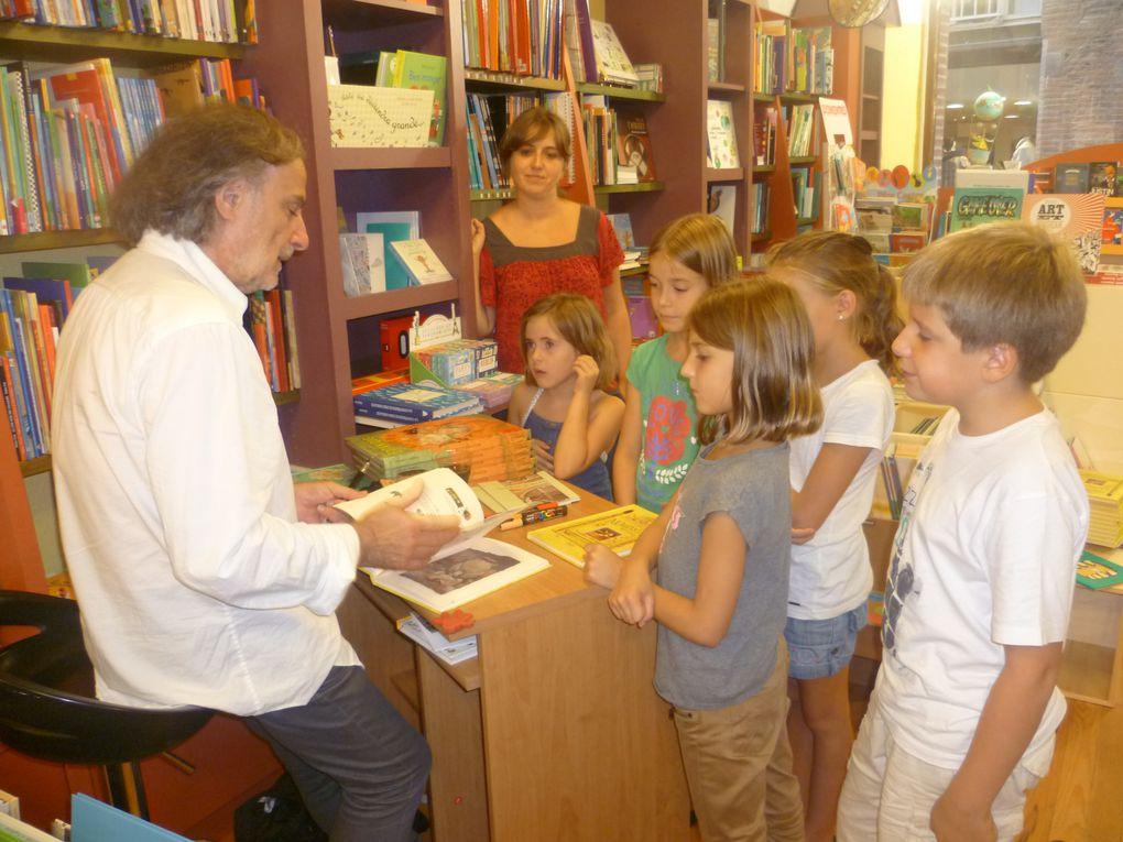 Frédéric Clément à la Librairie