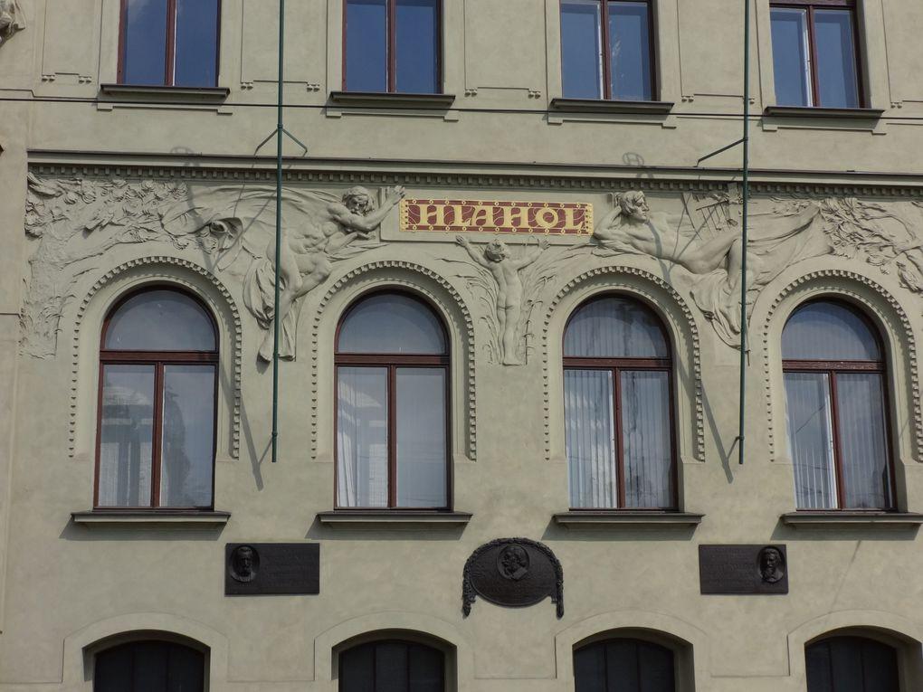 Six jours à Prague - 4. L'Art nouveau