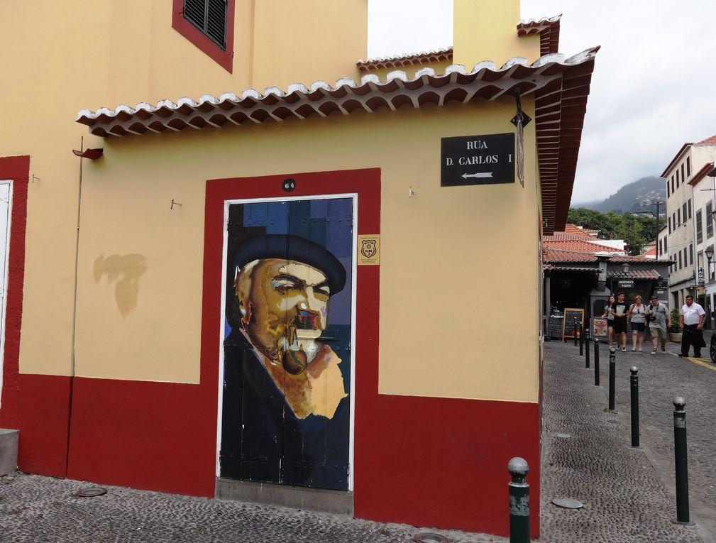 Ile de Madère - 2.b Funchal : vieille ville (ruelles)
