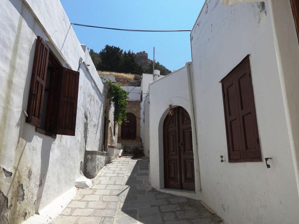 Ile de Rhodes - 2.c/ Lindos : le village