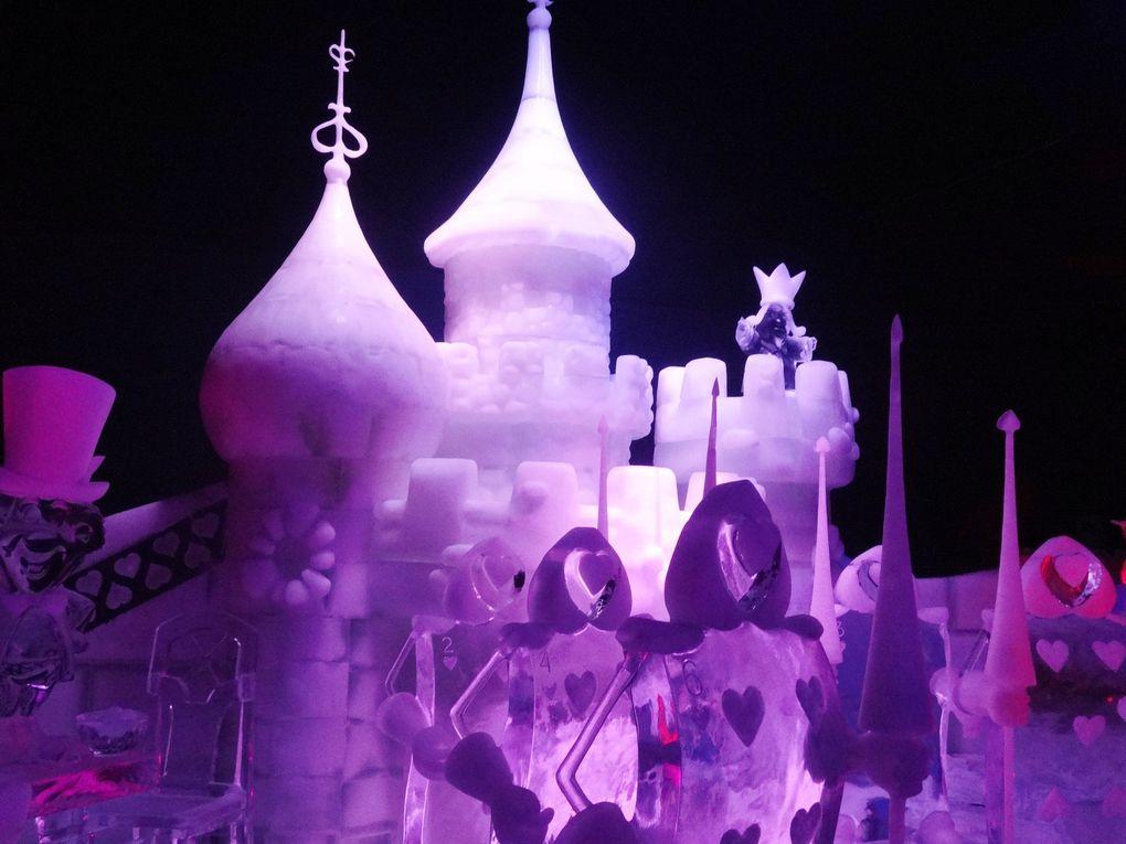 Sculptures de glace à Metz
