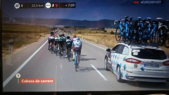 La Vuelta : Résultats de la 7ème étape