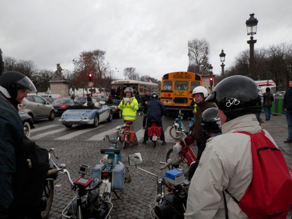 Les Léos à &quot&#x3B; Vincennes en Anciennes &quot&#x3B; le 10 janvier 2016