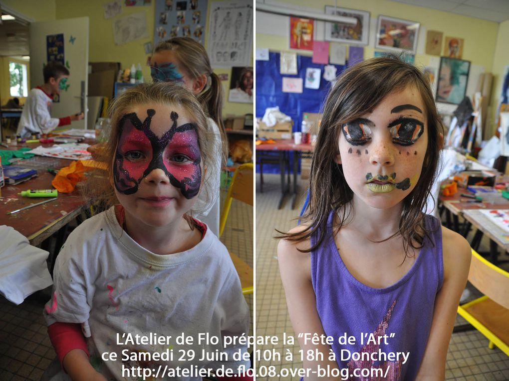 """On vous attend Samedi 29 juin à Donchery, salle de l'atelier pour la """"Fête de l'Art"""""""