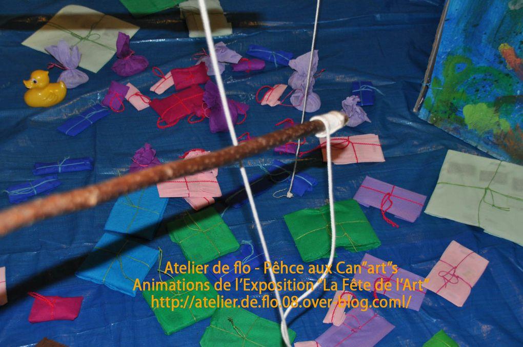 """La Pêche aux Can'""""art""""s-Merci à Joëlle et Pascale"""