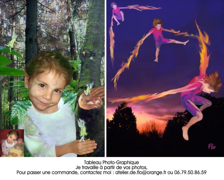 Je travaille à partir de vos photos, Pour passer une commande, contactez moi : atelier.de.flo@orange.fr ou 06.79.50.86.59