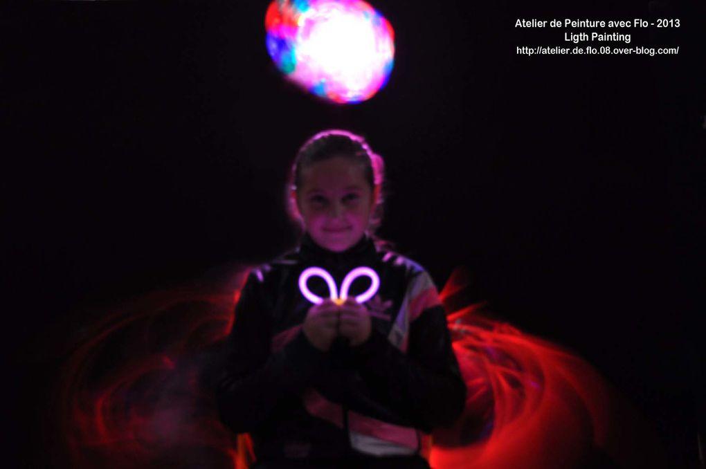 Création de Lumière avec Flo à l'école de Donchery