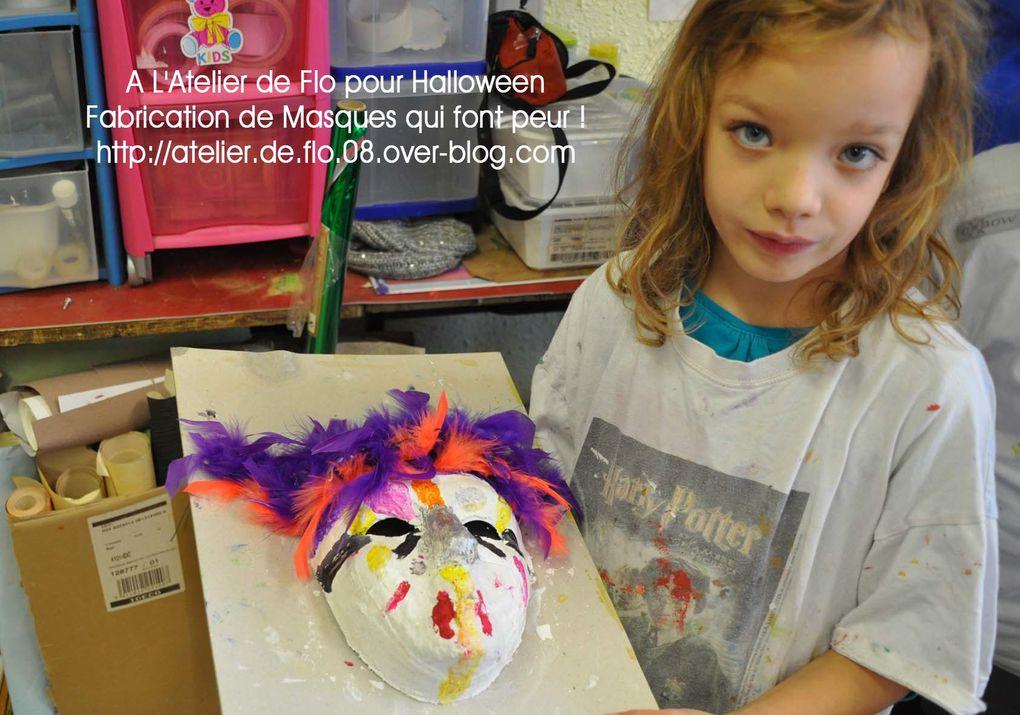 Les jeunes artistes et leur masque