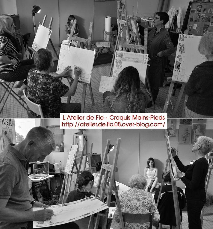 Les artistes de l'atelier de flo années 2013-2014