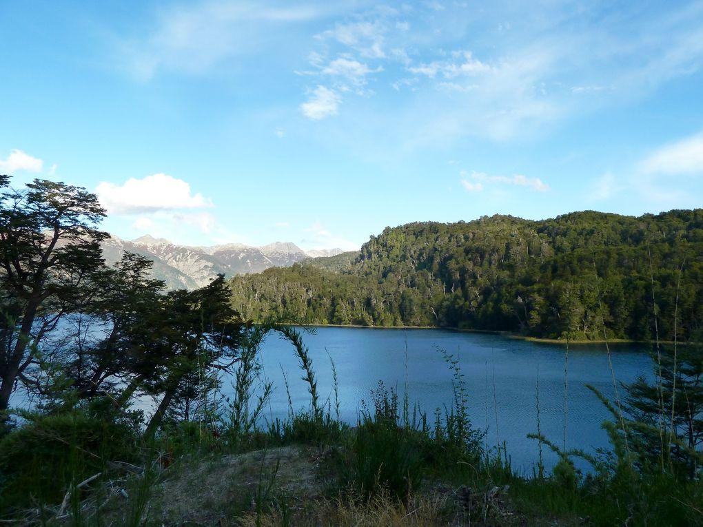 Route des 7 lacs et San Martin de Los Andes (paysages de montagnes en automne...)