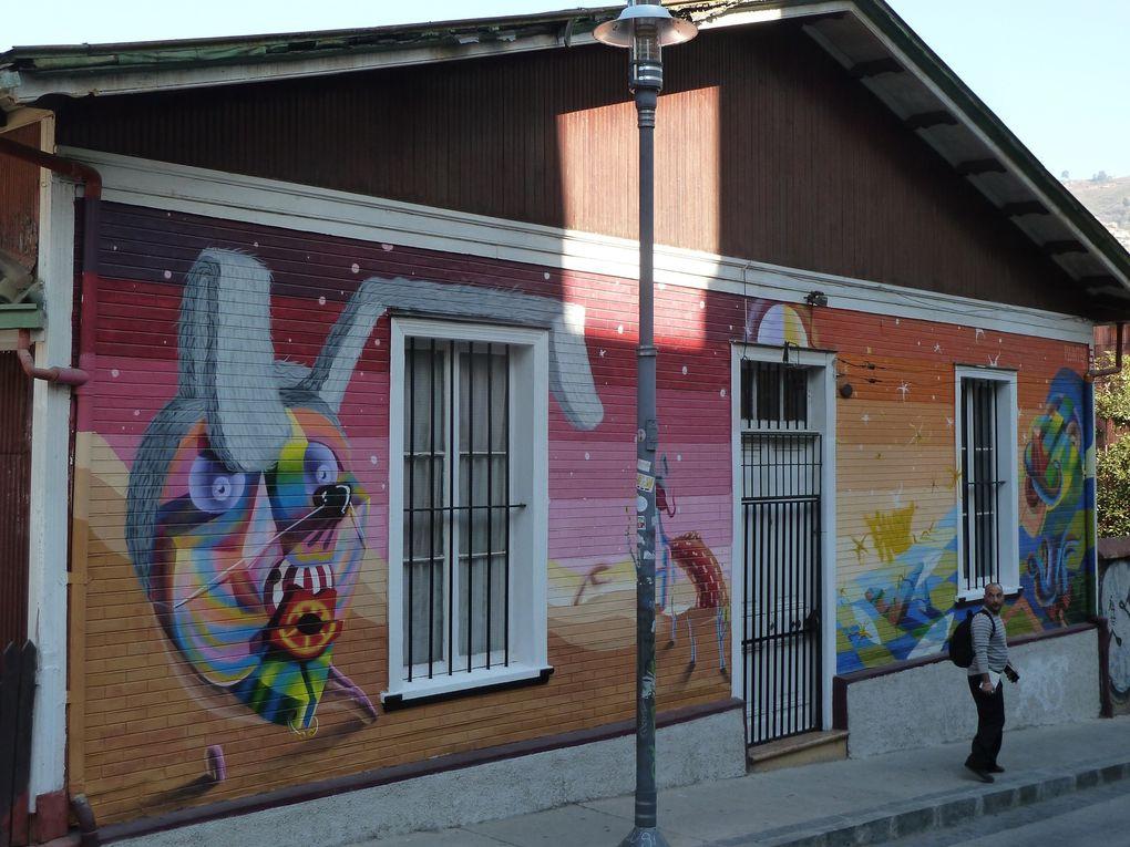 Maisons peintes, des couleurs plein la ville!
