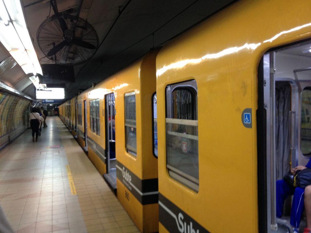 Le métro (il faut croire que ça nous manque...)