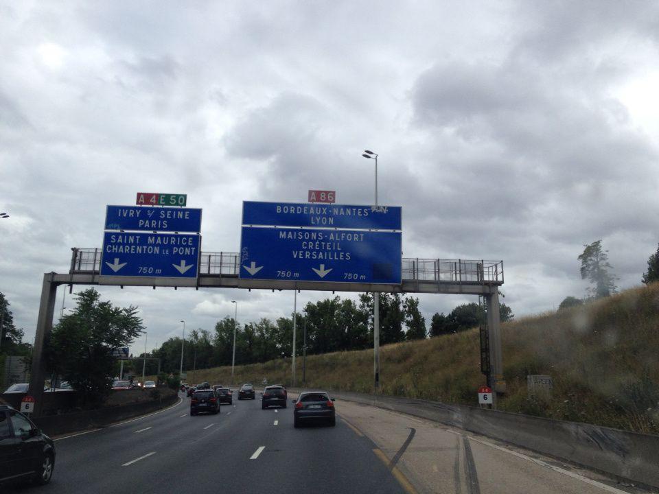 Si un jour on m'avait dit que je serais ravie de retrouver les bouchons de l'A4!...