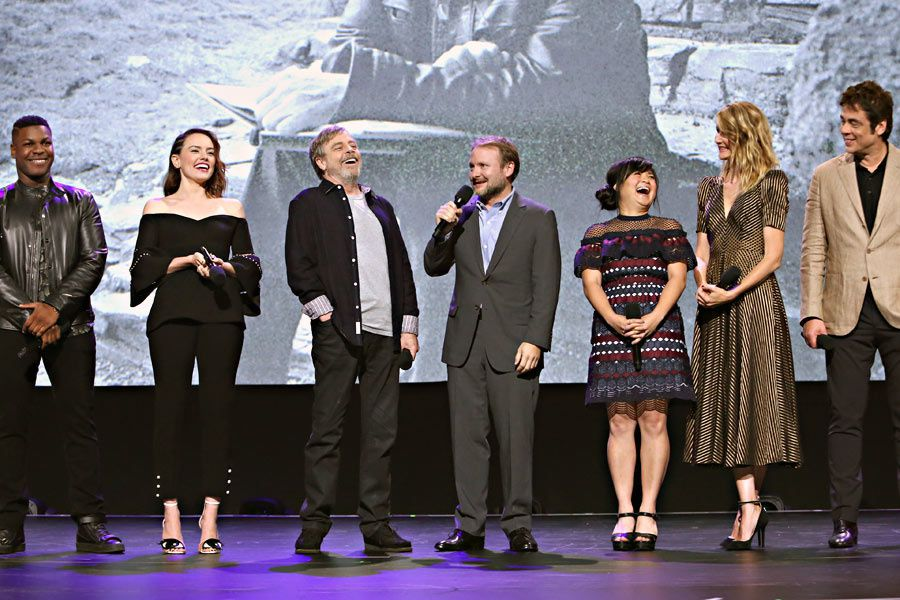 D23EXPO : Présentation &quot&#x3B;The Last Jedi&quot&#x3B; - Galerie Photo