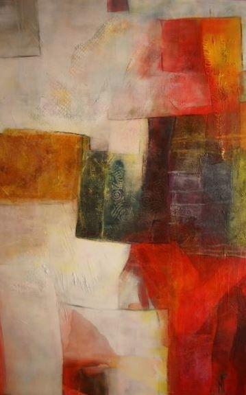 L'artiste peintre Nadine Pothier sera présente à la Chartre sur le Loir le 7 juillet prochain