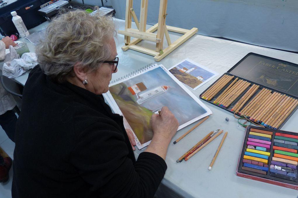 Dessin/Peinture - Atelier Adultes