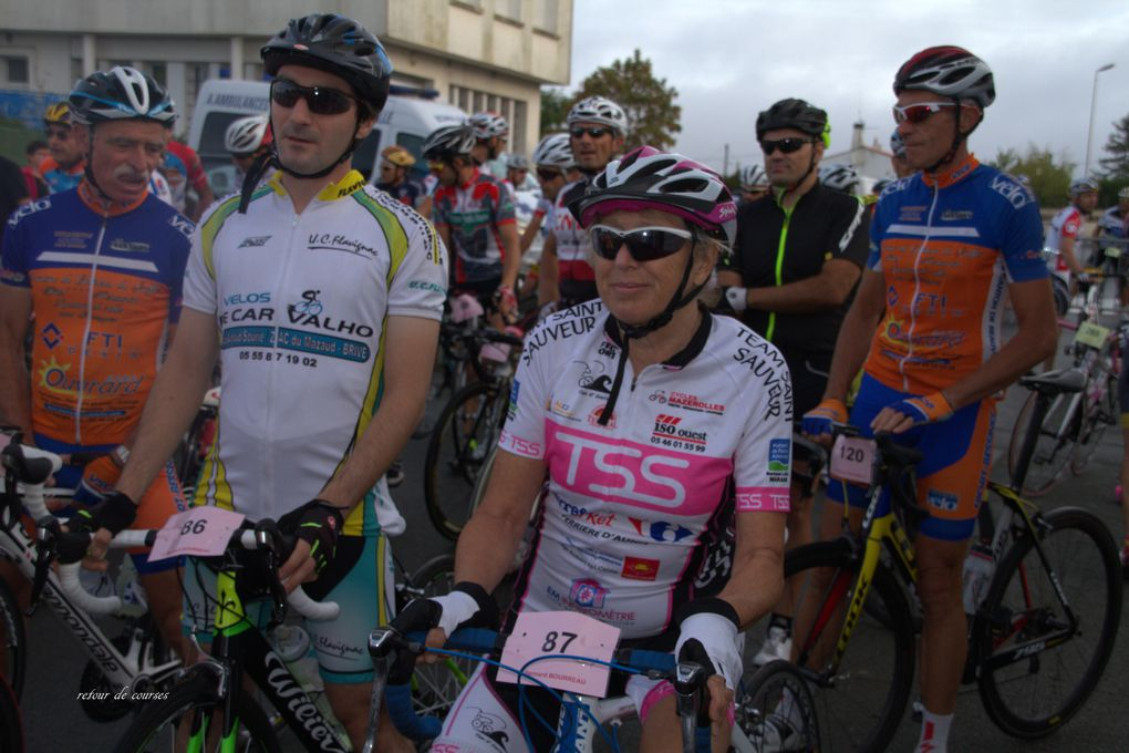 Cyclo sportive Bernard Bourreau 2016
