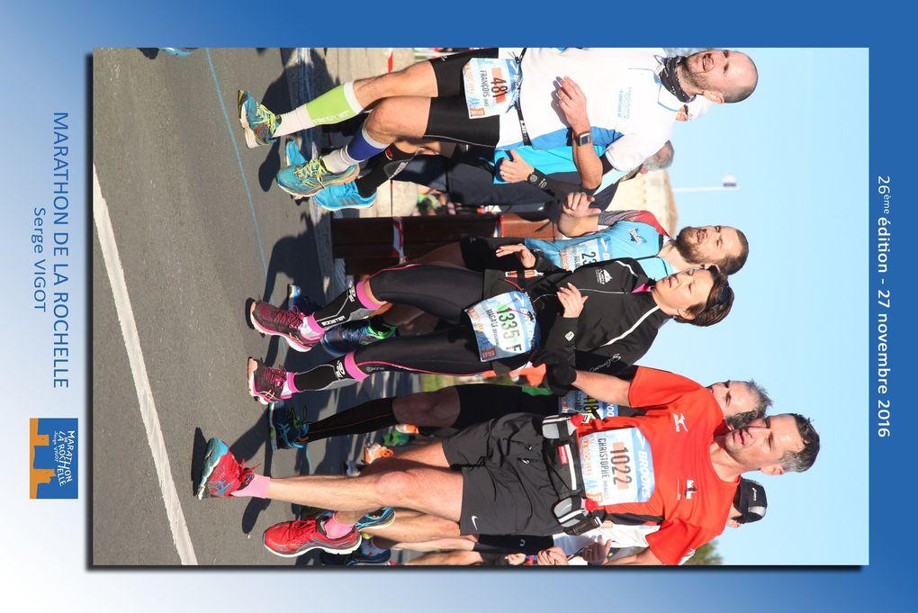 Analyse pour CAPTRAIL du marathon de La Rochelle 2016