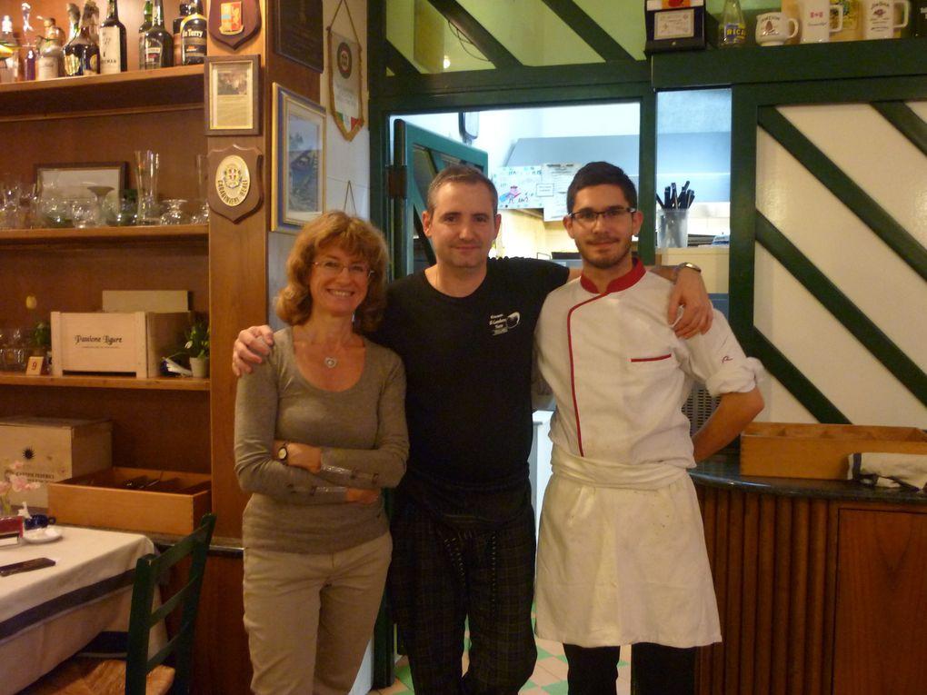 Photos sur les sejours des apprentis à La Specia avec le projet Eramus plus