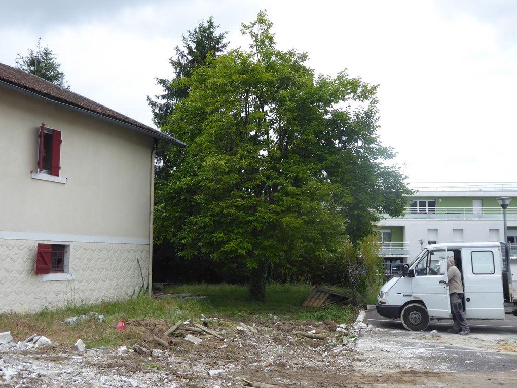 Défrichement EBC route Galaxy3 Avenue Montaigne Rue Jean Duperrier et site Hérakles