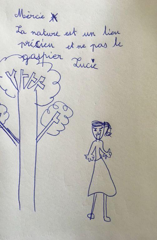 Lettres d'amour aux fleurs et au vent à Valence : mouillés mais heureux !