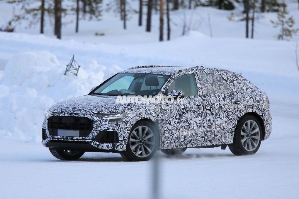 Scoop : [Nouvelle Audi Q 8 en images]