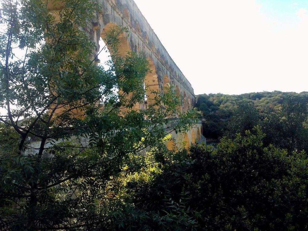 L'aqueduc dit Pont du Gard à REMOULINS