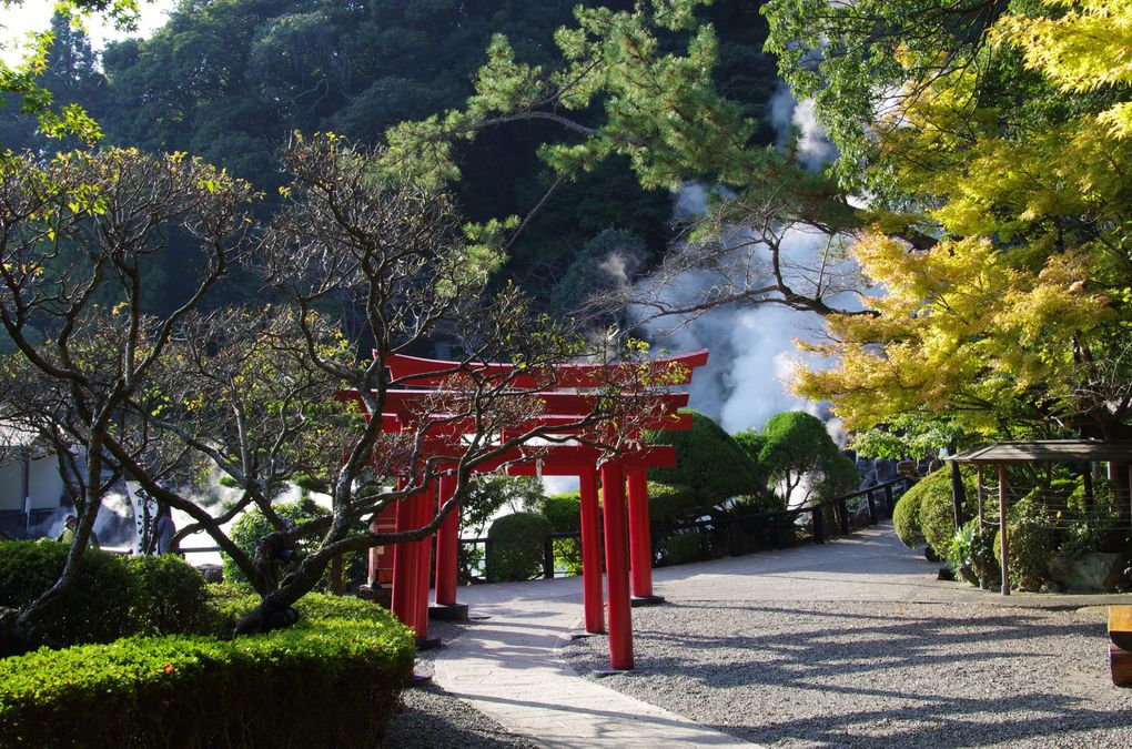 Umi-Jigoku (le plus grand avec serre etc) (diaporama)