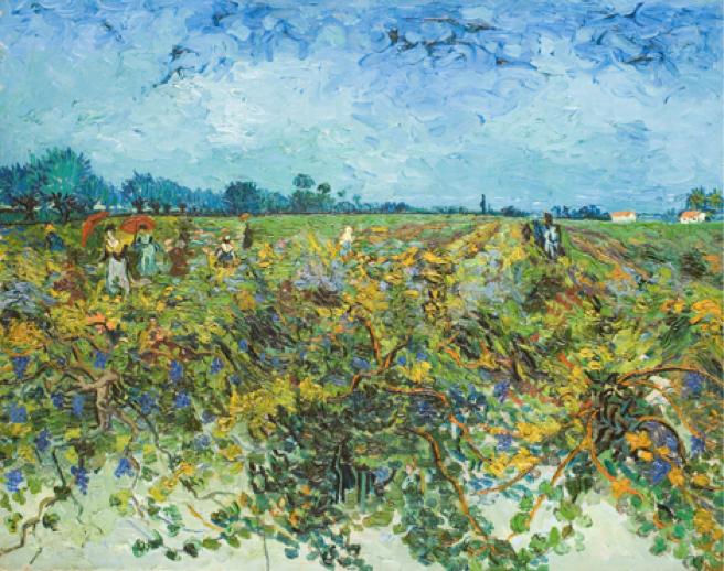 Van Gogh, l'uomo e la terra, a Milano e il pane ricco alla farina di segale e fiocchi d'avena.