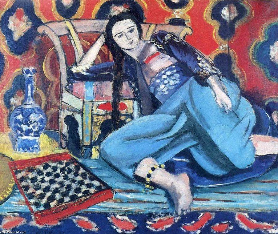 Di seppioline con i carciofi e dei colori e della luce di Matisse nei suoi Arabesque...